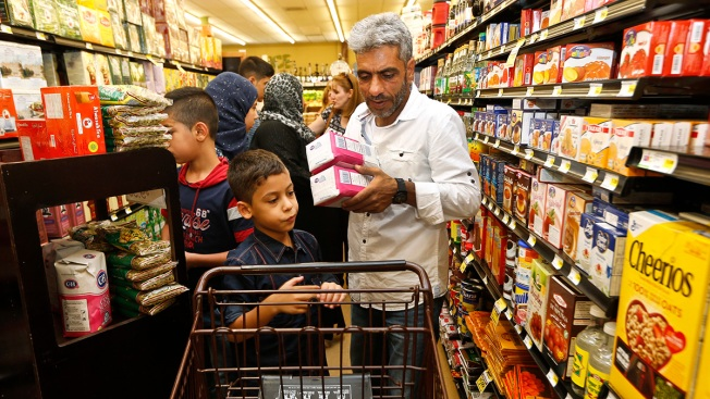 Syrian Refugee Family Feels Welcomed by 'Very Nice' Americans
