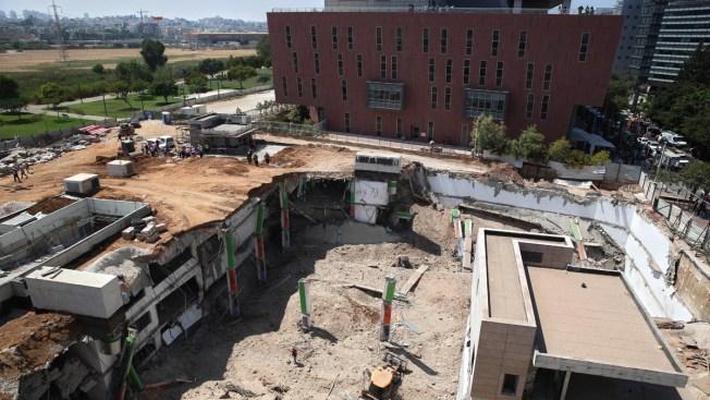 Construction Site Collapses in Tel Aviv, Killing 2