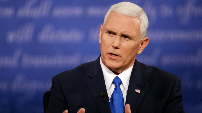 Taking Softer Tone, Pence Says Clinton Is 'Admirable'