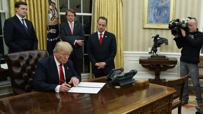 Trump Begins Term in Office by Signing Health Care Executive Order