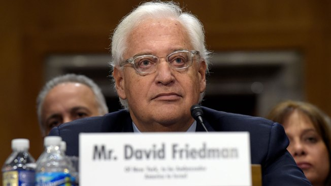 David Friedman Sworn in as Trump's US Ambassador to Israel