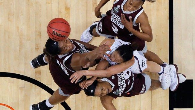Mississippi State Stuns UConn, Breaks Huskies' 111-Game Streak in OT