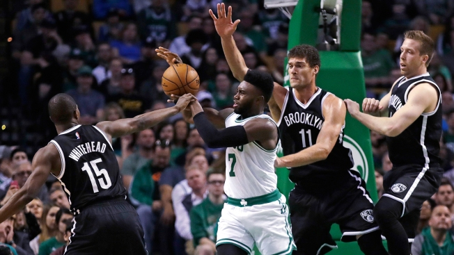 Celtics Lock Up Division Title With 114-105 Win Over Nets