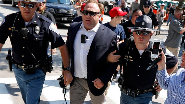 'Infowars' Host Alex Jones Is a Performance Artist, Lawyer Says