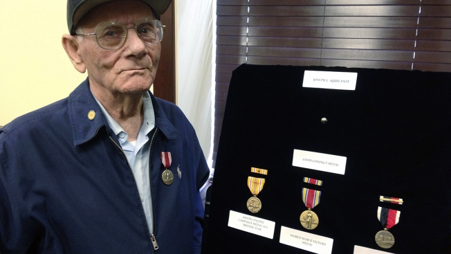 91-Year-Old WWIII Veteran Receives Overdue Medals