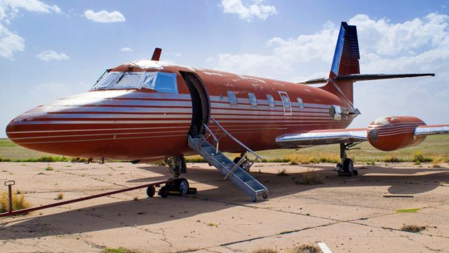 Jet Owned by Elvis Auctioned After Sitting 35 Years