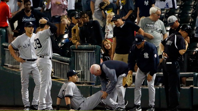 Outfielder's 'Heartbreaking' Yankees Debut Ends in Surgery
