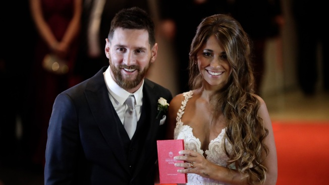 Messi Marrying Childhood Sweetheart in Argentina Hometown