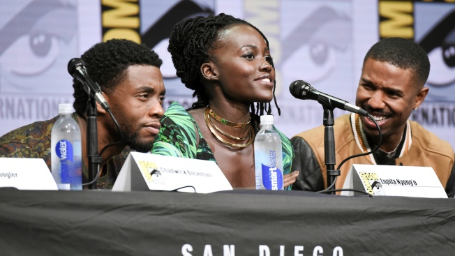 Comic-Con Goes Wild for 'Black Panther' at Marvel Panel