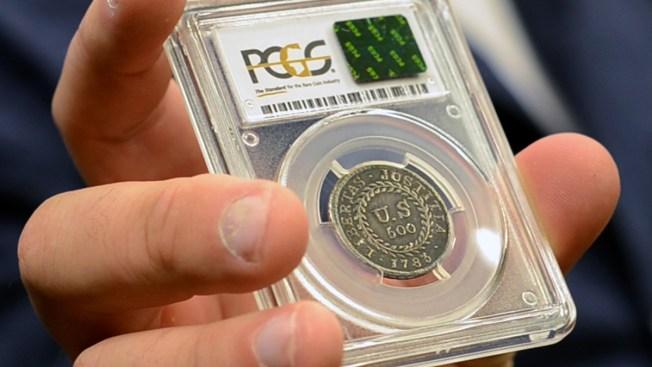 Did Alexander Hamilton Hold This Coin?