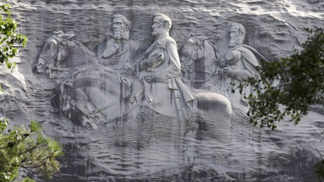 Carved Into Georgia Mountain, Stone Mountain Poses Another Test for Confederate Symbols