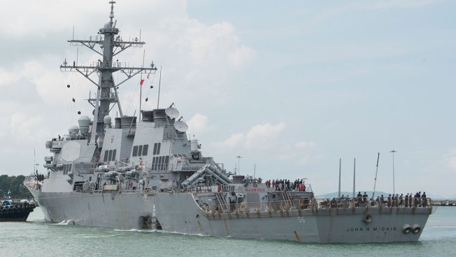 USS McCain Commanding Officers Relieved of Duty After Deadly Collision