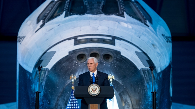 Pence Pledges That US Will Go to the Moon, Mars and Beyond