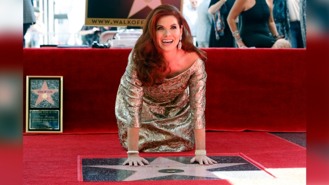 'Will & Grace' Actress Debra Messing Honored With Hollywood Walk of Fame Star