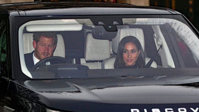 Meghan Markle Joins Royal Christmas Lunch at Palace