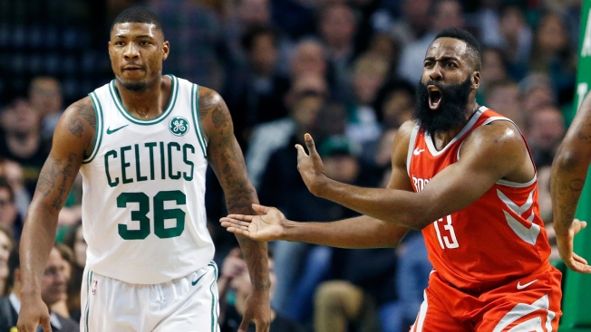 After Trailing by 26, Celtics Beat Rockets in Final Seconds