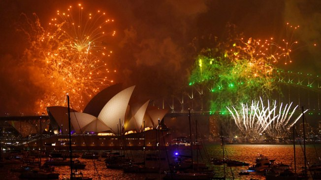 happy new year 2018 celebrations in photos
