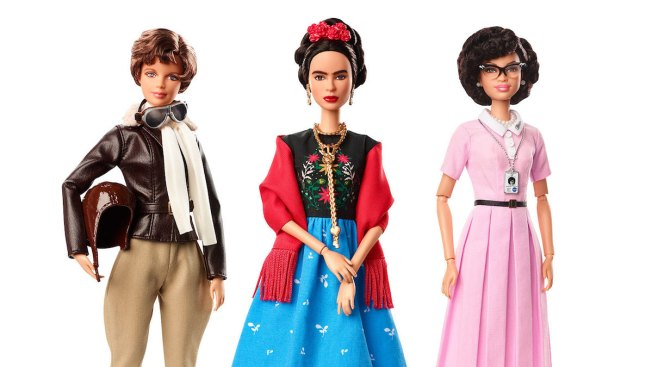 New Barbie Collection Honors Historic Female Figures
