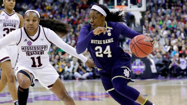 Notre Dame Beats Mississippi State on Last-Second Shot for Women's Title