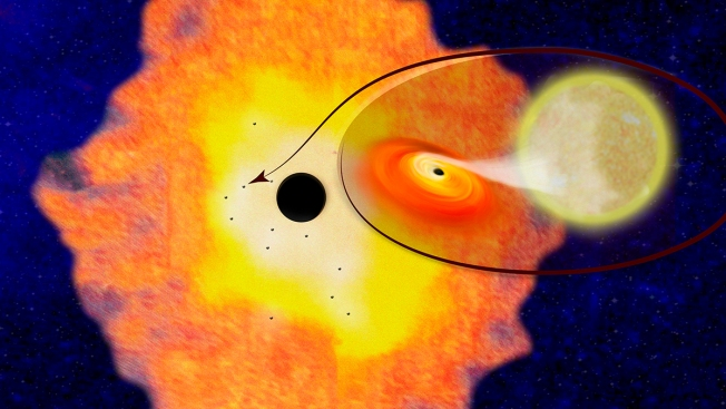 The Center of the Milky Way Is Teeming With Black Holes: Study