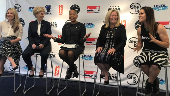 8 Women's Leagues Band Together for Cross-Sport Support