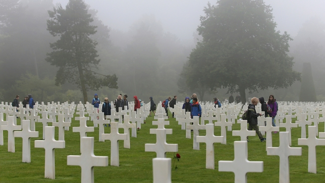 74 Years After Allied D-Day Landings, Veterans and Families Honor the Fallen