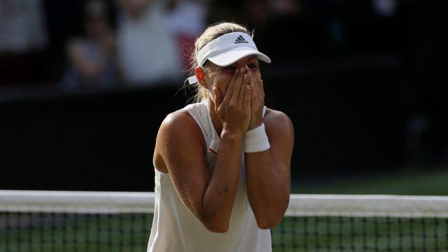 Kerber Beats Williams 6-3, 6-3 to Win 1st Wimbledon Title
