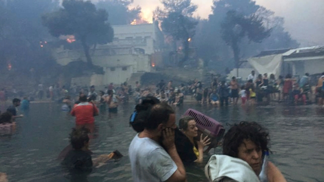 Death Toll From Greek Wildfire Reaches 91 as Village Grieves
