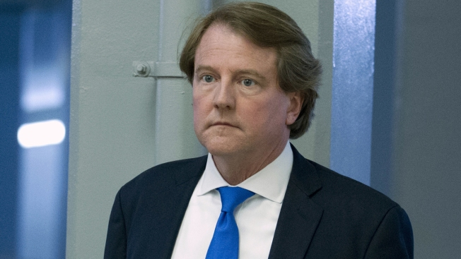 White House Counsel Don McGahn Leaving in Fall, Trump Says