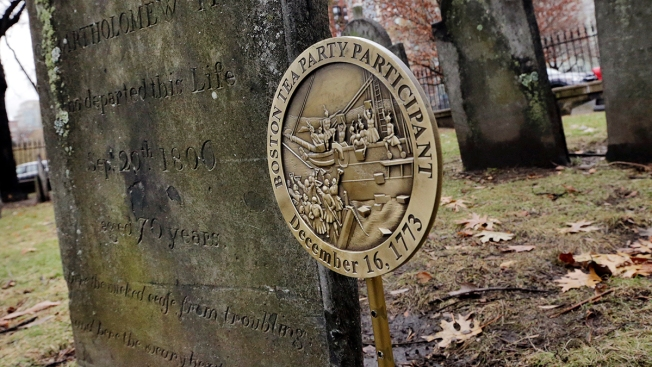 Boston Tea Party Participants Honored With Special Markers