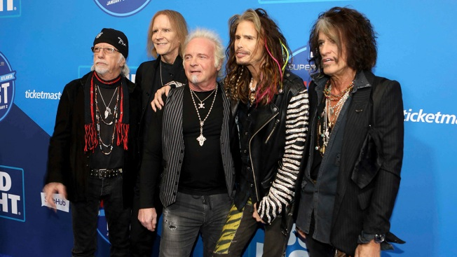 Aerosmith Fans Must Dream on After Walk of Fame Ceremony Rainout