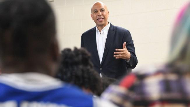 Booker Campaign Gets 2020 Jolt With Pushback Against Biden