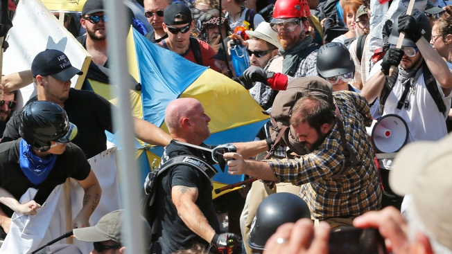 3 Sentenced for Violence at Charlottesville, Virginia White Nationalist Rally