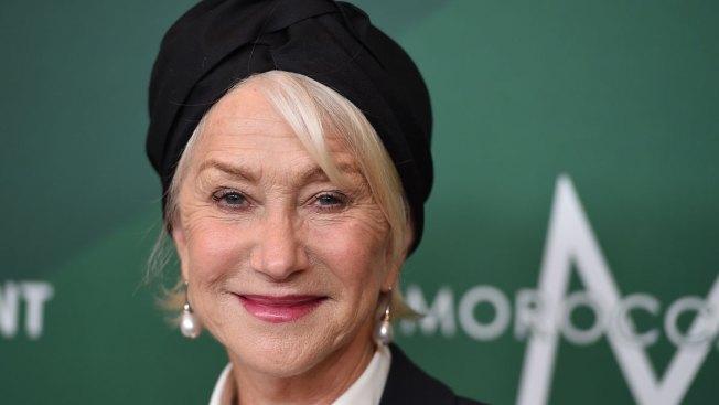 Helen Mirren Calls on Women to 'Change the Landscape' by Voting