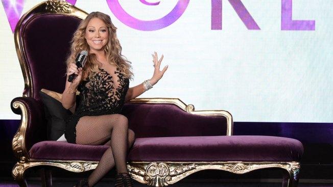 Mariah Carey Playfully Promotes Docuseries 'Mariah's World'