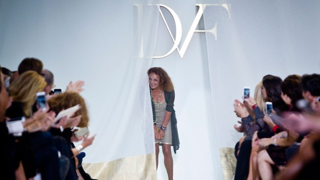 Diane Von Furstenberg Highlights Supermodels at NYFW Show