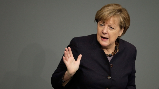 Germany's Merkel 'Not Happy' Pacific Trade Pact in Danger