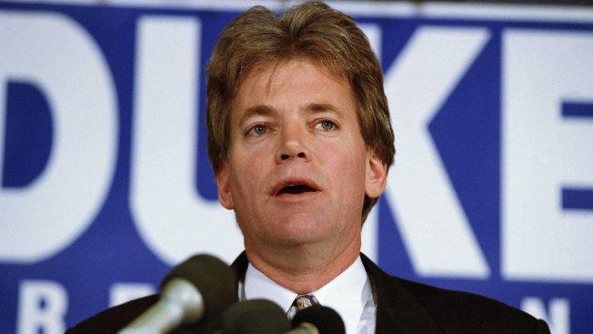 Ex-KKK Leader David Duke Says He Plans to Run for US Senate