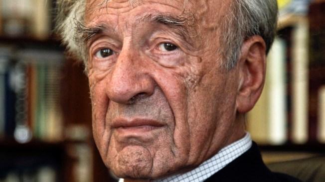 Boston University Honors Holocaust Survivor Elie Wiesel