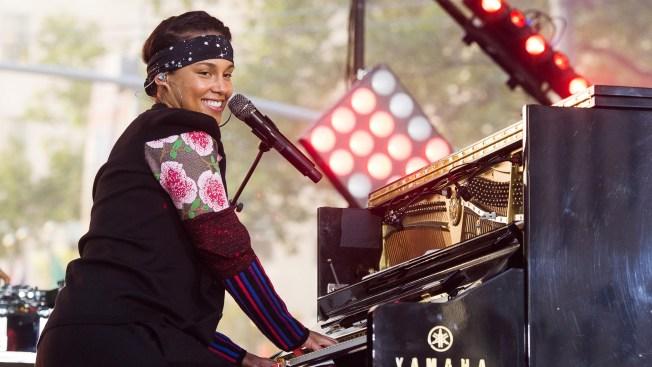 Alicia Keys Kicks Off Grammy Week With Birthday Party