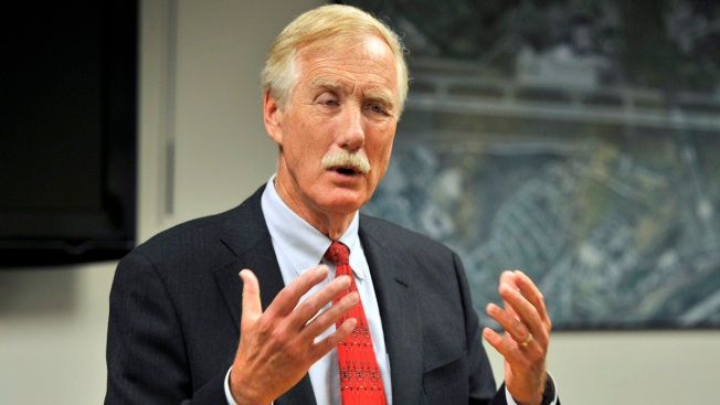 Maine Sen. Angus King Back to Work After Cancer Surgery
