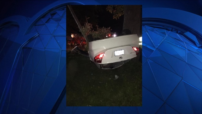 Driver Dies in Rollover Accident in Auburn, Massachusetts