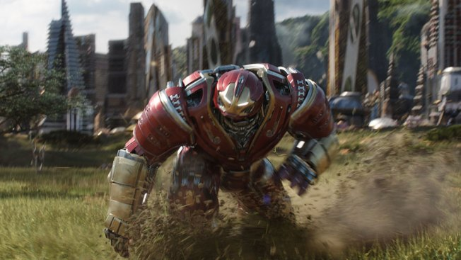 The Avengers Approach 'Infinity'