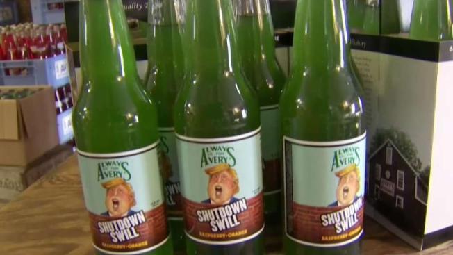 'Shutdown Swill' Soda Commemorates Government Shutdown