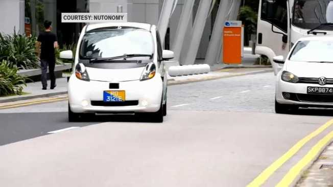 Self-Driving Car Testing Expands in Boston