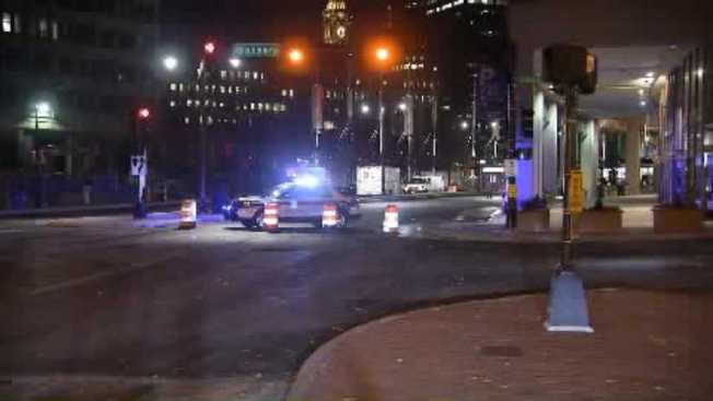Water Main Break at Government Center in Boston
