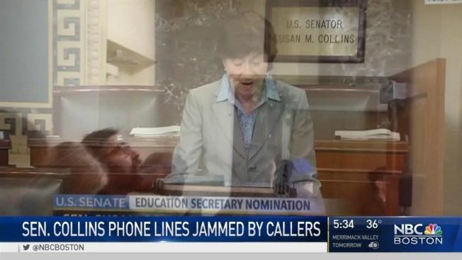 Sen. Susan Collins in National Spotlight With Trump ...