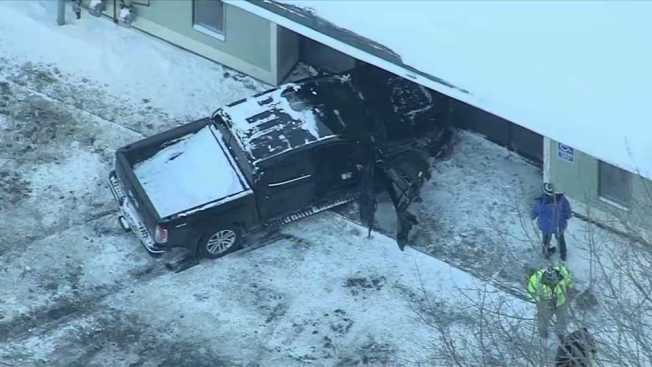 Man Dies After Crashing Into Business in Worcester, Massachusetts