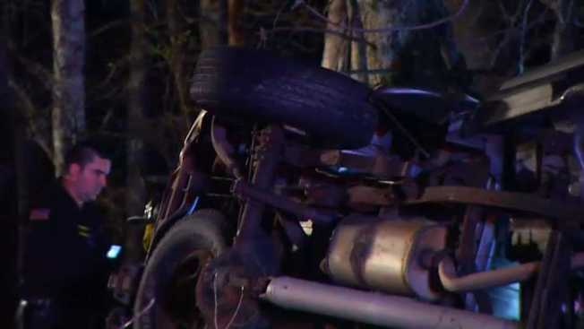 1 Killed in Rollover Crash in Scituate, RI
