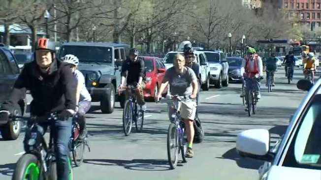 'Make Way for Bike Lanes' to Push For Safer Streets Around Boston's Public Garden